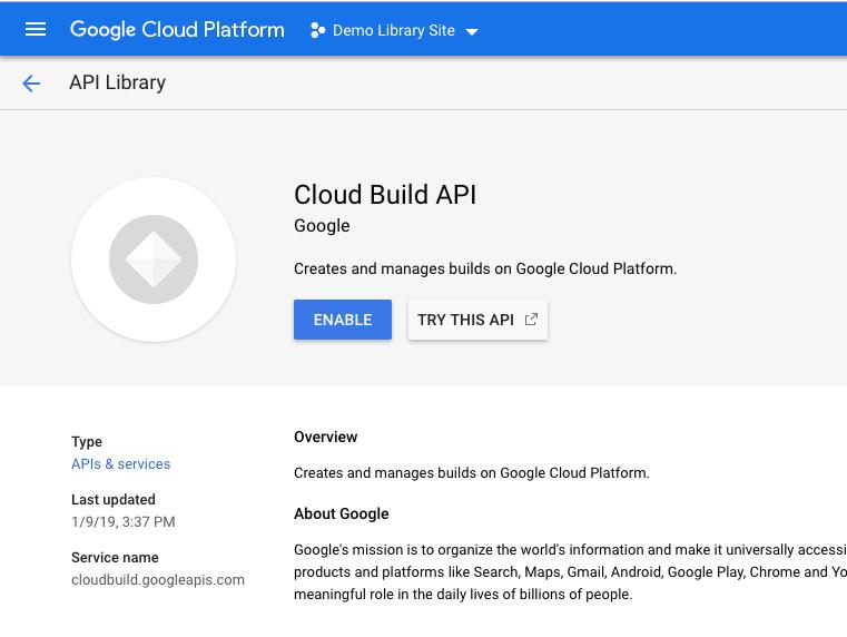 Deploying Library: Google App Engine