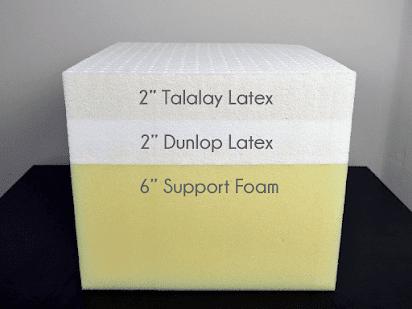 bantal memory foam vs latex