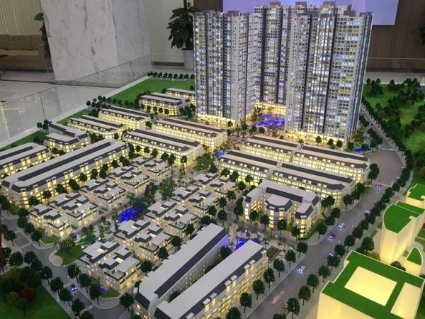 Mô hình kiến trúc là bản sao thu nhỏ của các công trình dự án