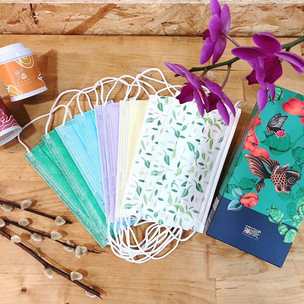 Pinkoi 彩色無毒醫療口罩,10 入禮盒