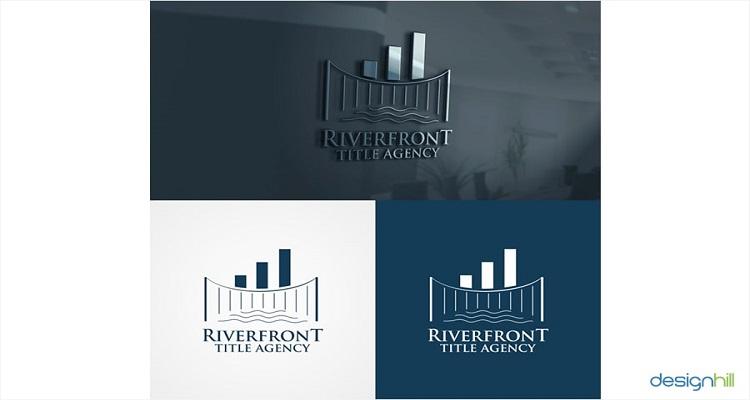 real estate logos riverfront