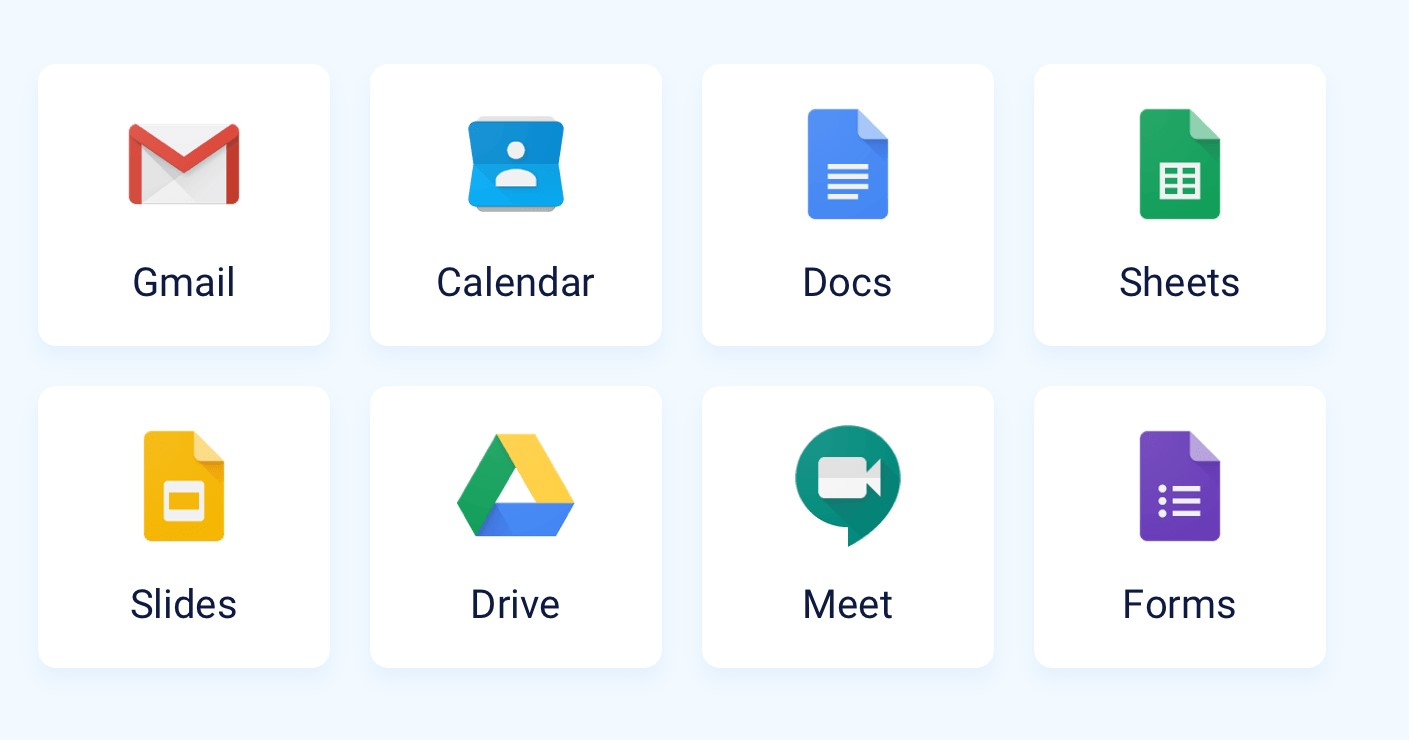working remotely - google drive