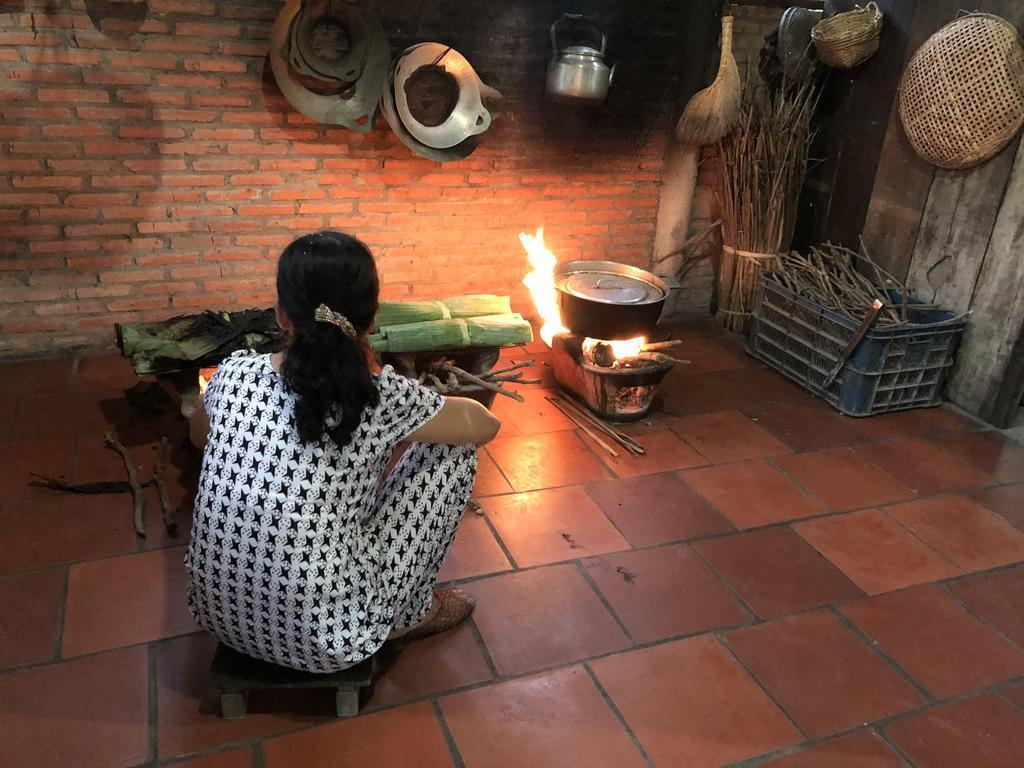 Bếp Jardin Du Mekong Homestay