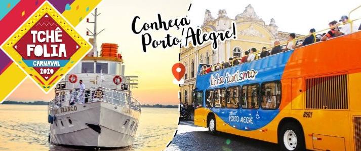 Conheça Porto alegre. Oferta Linha turismo