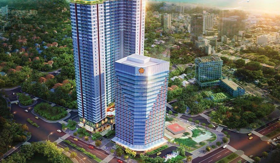 Grand Center Quy Nhơn với bốn mặt tiền