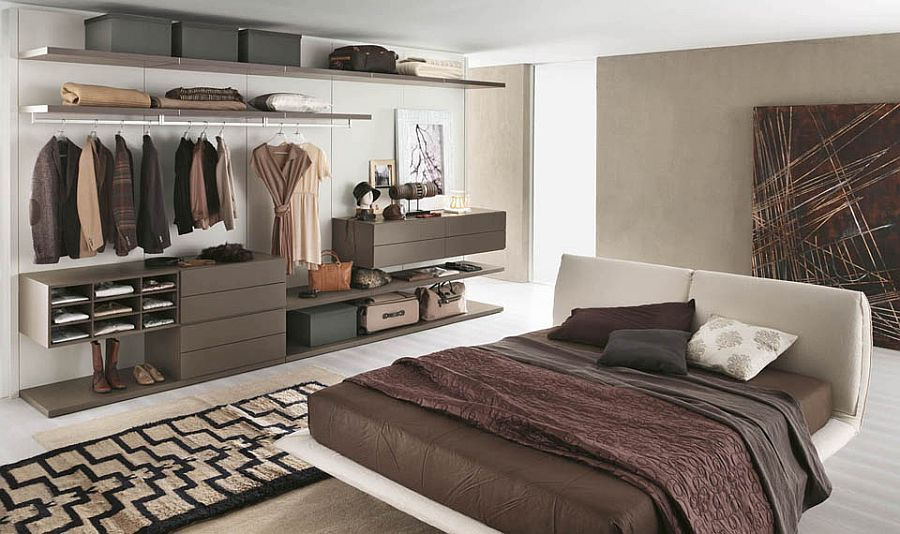 Add a Clothing Rack for Extra Storage