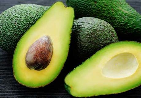 Avocados help in nourishing the skin