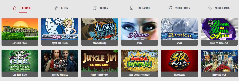 Platinum Play Casino Spiele.