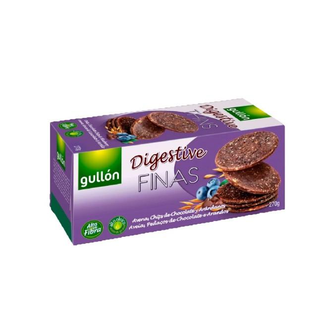 711素食 Gullon 穀優藍莓巧克力消化餅乾