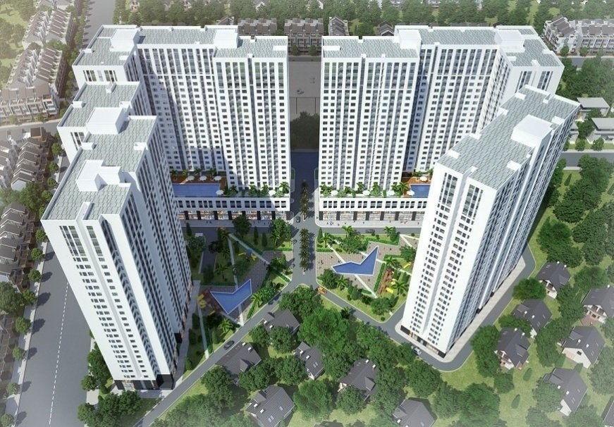 Cảnh quan dự án Aio City Bình Tân
