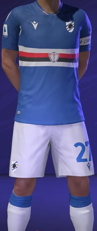 FIFA 21 Sampdoria Home kit