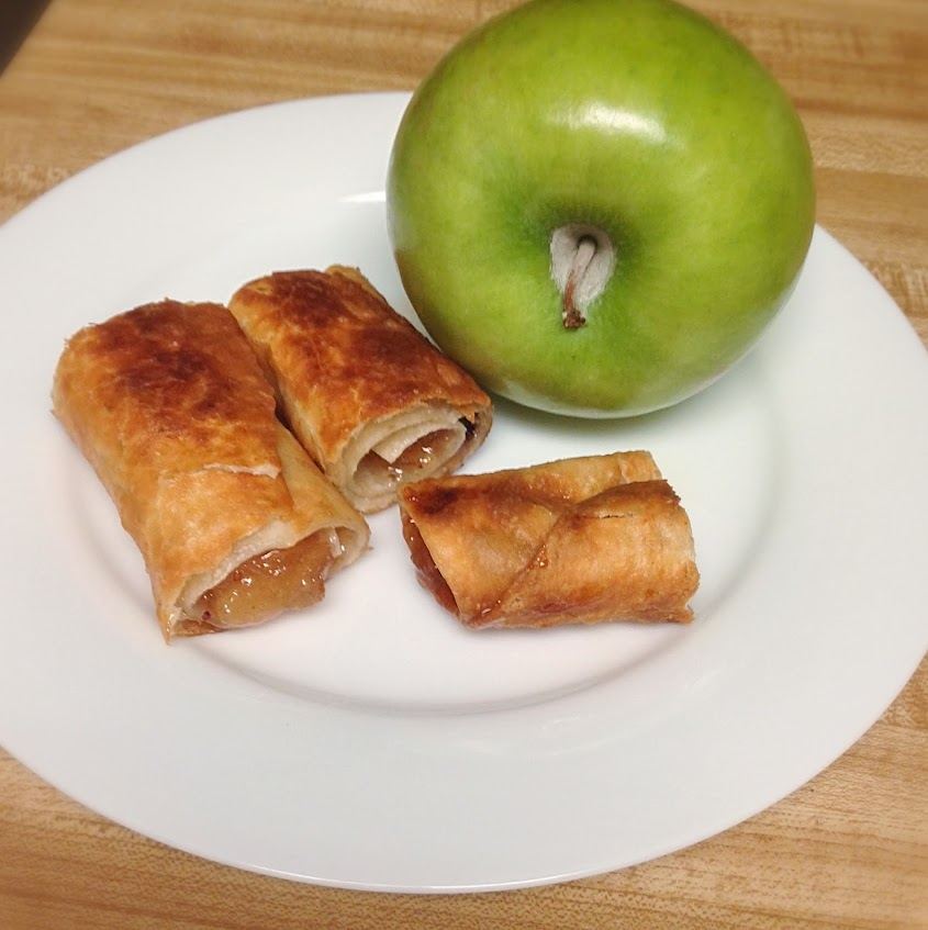 Apple chimichangas