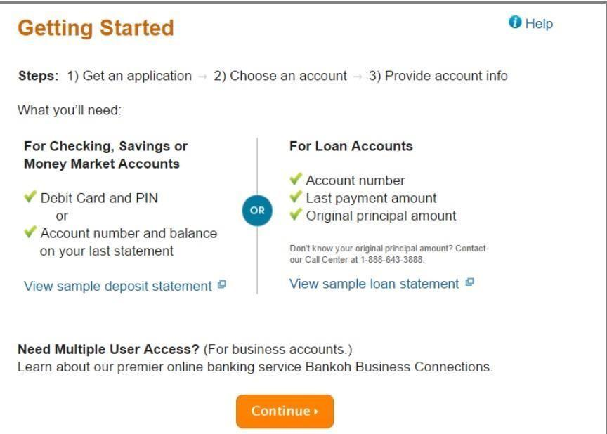 Bank of Hawaii online banking