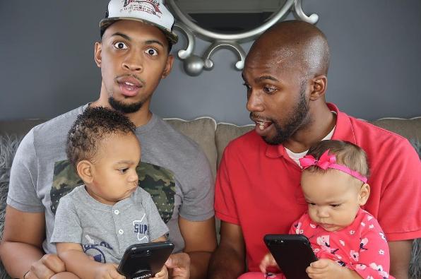 Terrell & Jarius   Same-sex Parents   Family Influencers on Afluencer