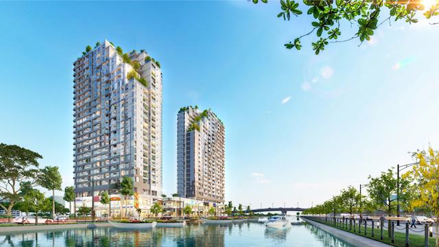 Dự án D-AQUA có 650 căn hộ và toạ lạc tại vị trí vô cùng đắc địa