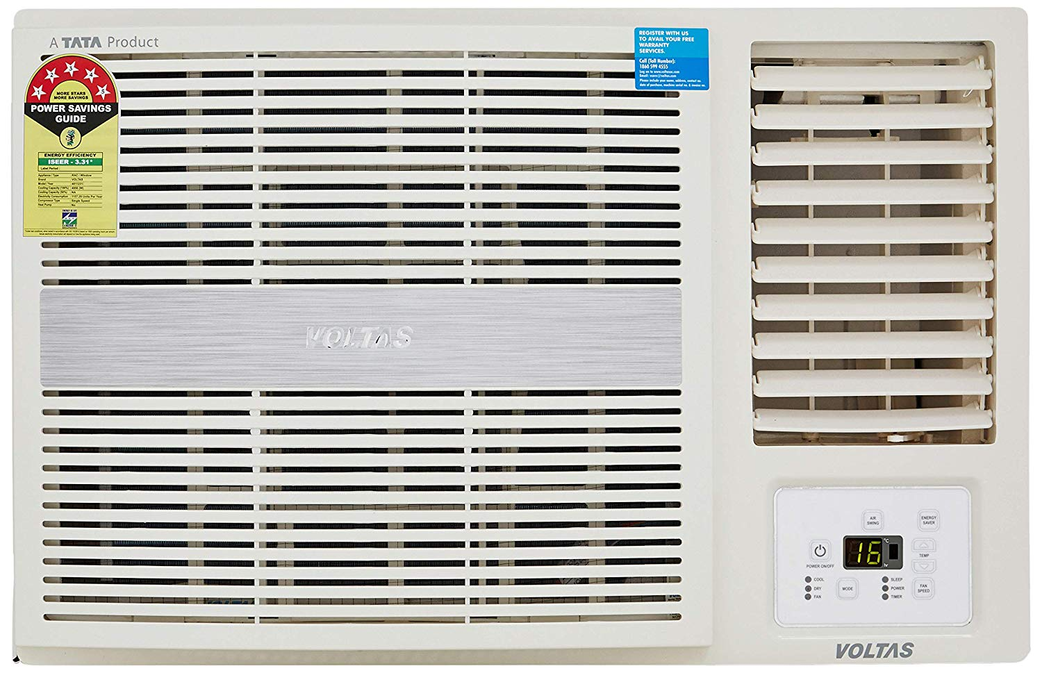 Voltas 1.5 Ton Window AC