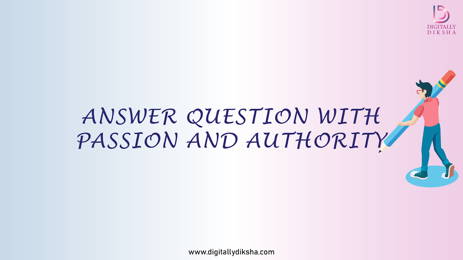 Answer question with passion and authority for a better quora marketing