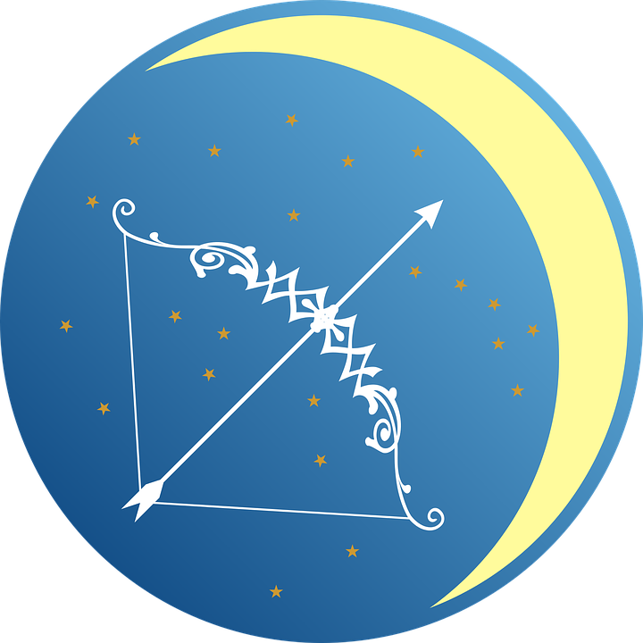 Sagittarius is symbolized by the archer.