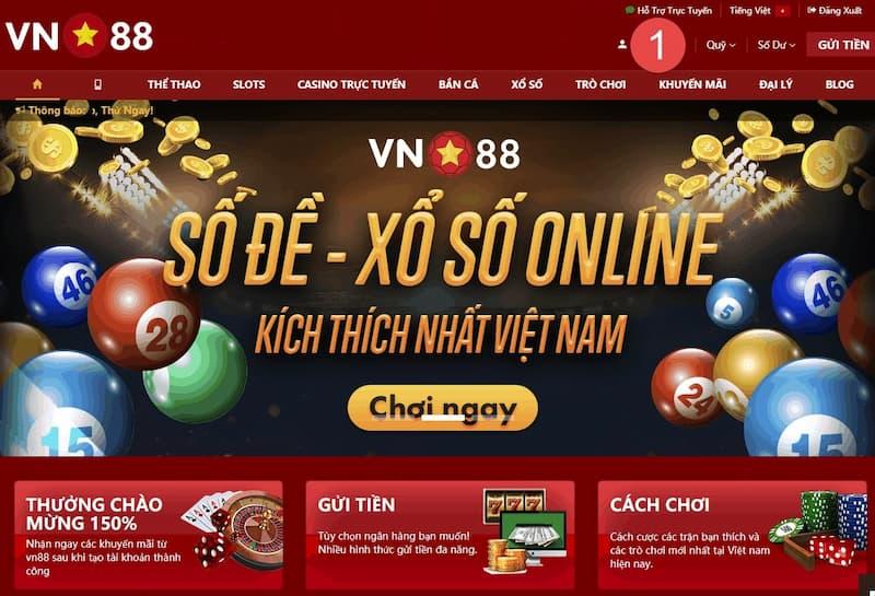 Nhà cái cá cược thế hệ mới - VN88