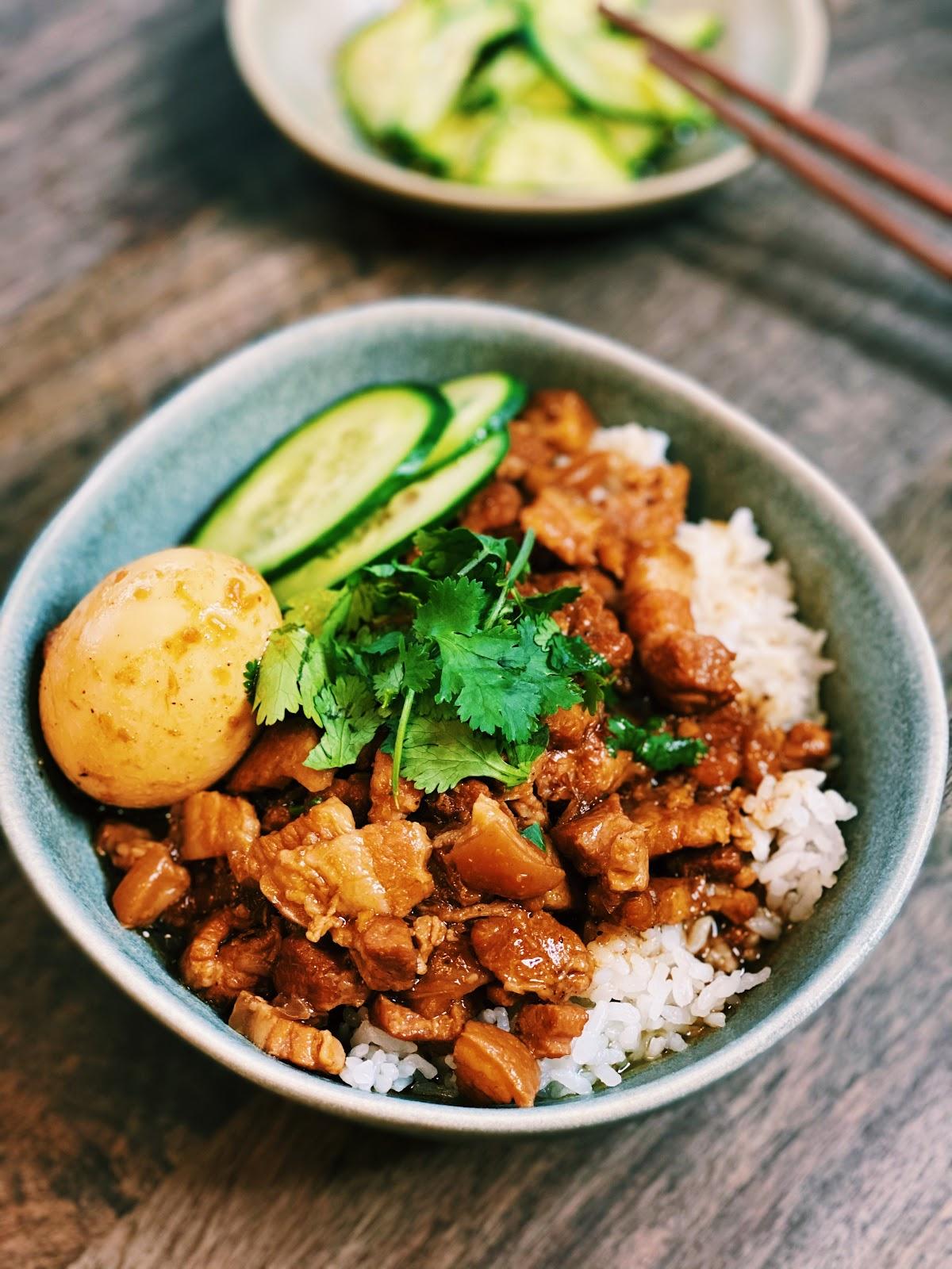Authentic Taiwan Pork Rice