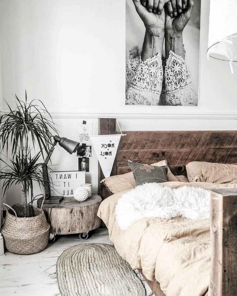 Modern Rustic Scandinavian Bedroom Ideas