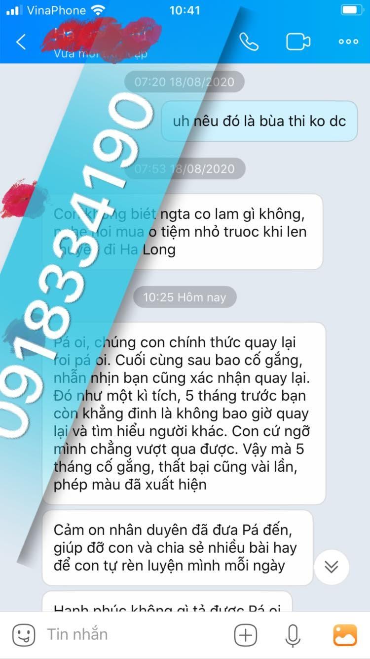 Tác dụng của bùa yêu Bình Thuận giúp cho cặp đôi trở về bên nhau