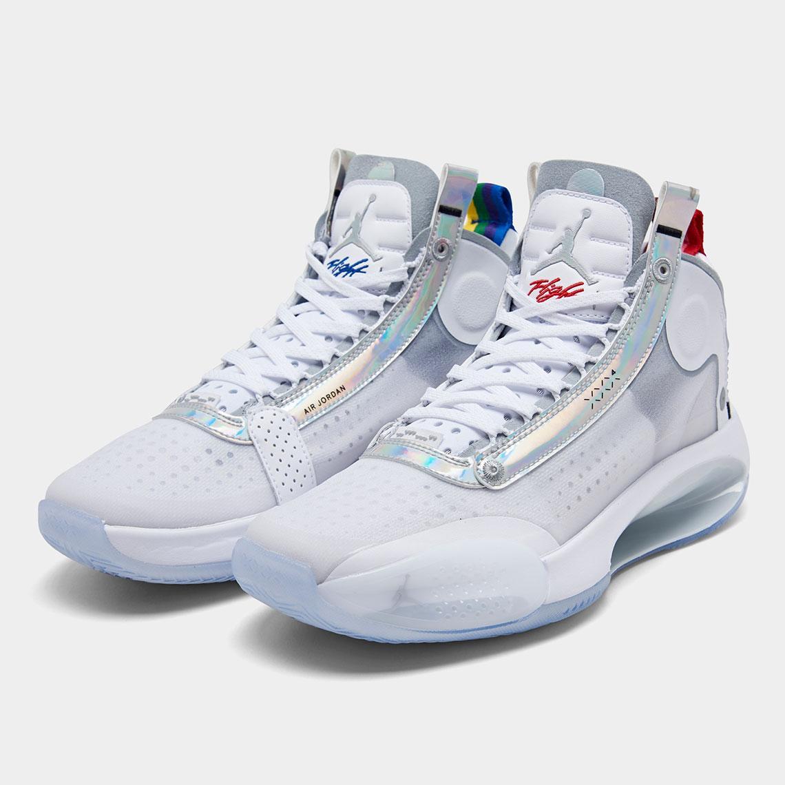"""AIR JORDAN 34 White Iridescent"" รองเท้า Air Jordan ที่เบาที่สุดที่เคยผลิตออกมา 05"