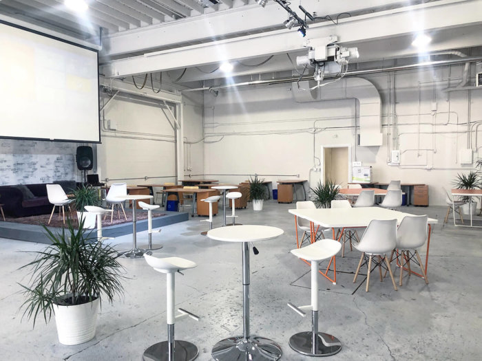 The Creative Hive Coworking Space in Edmonton
