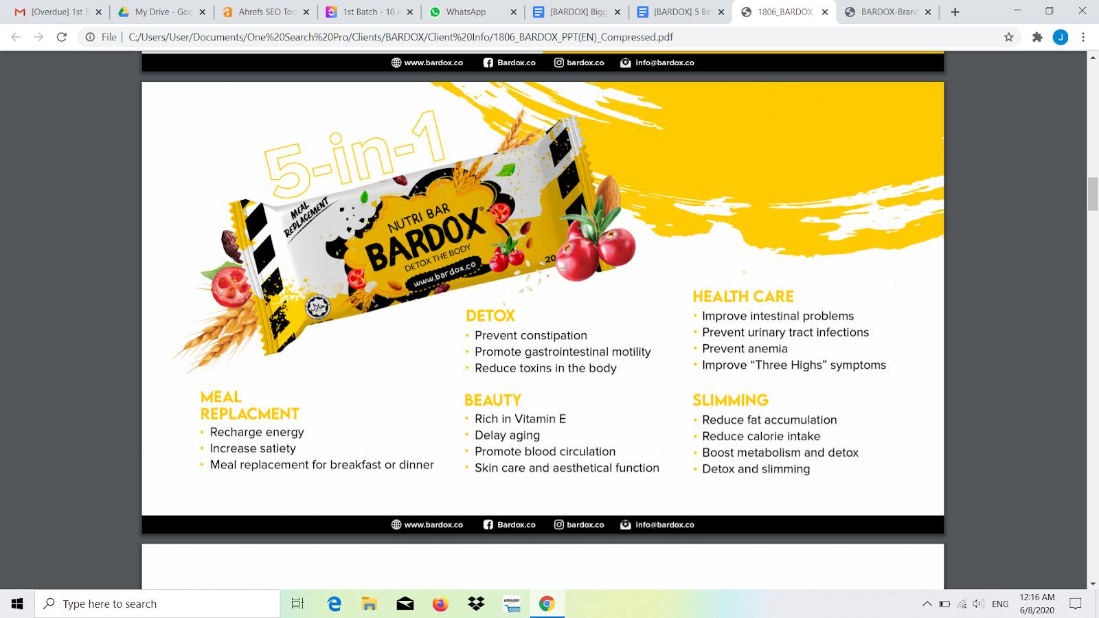 5 Benefits of Nutri Detox Bar