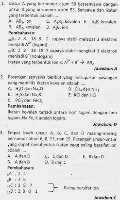 Soal Essay Dan Jawaban Kimia Kelas Xii