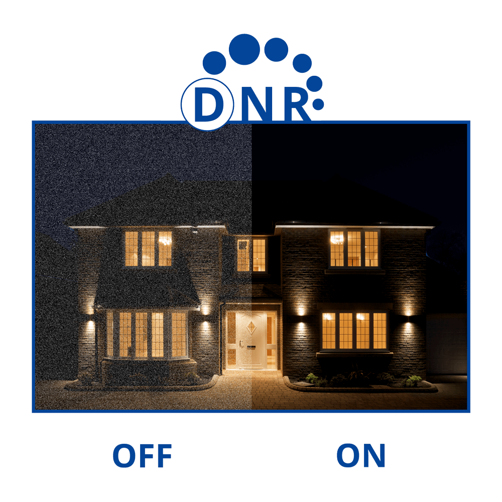 Digital Noise reduction security camera