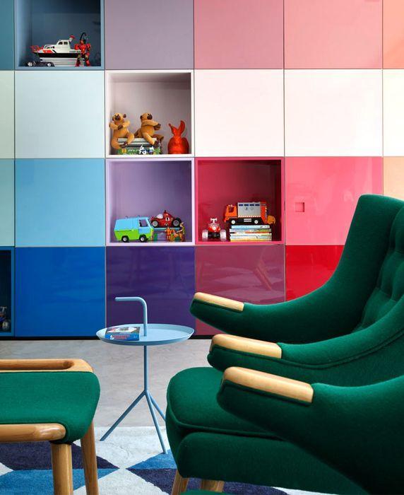 Разнообразная цветовая гамма 2016