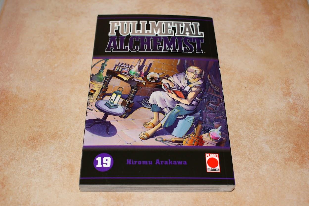 Planet Manga Fullmetal Alchemist Loot