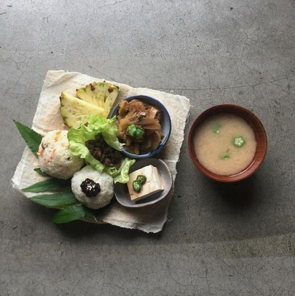 宜蘭-蔬食餐廳推薦-一簞食-深溝村飯糰套餐