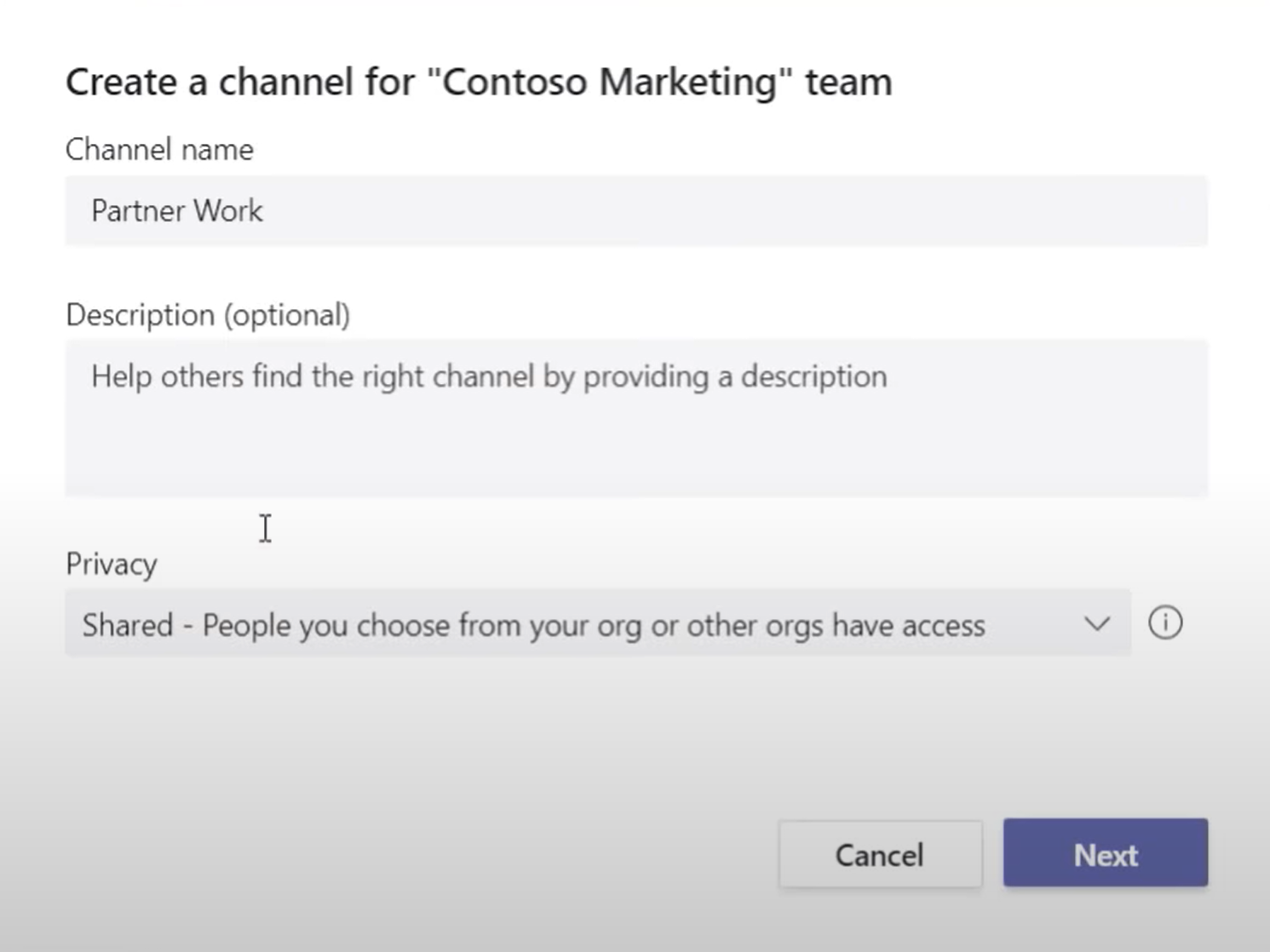 Microsoft Teams shared channels Teams Connect