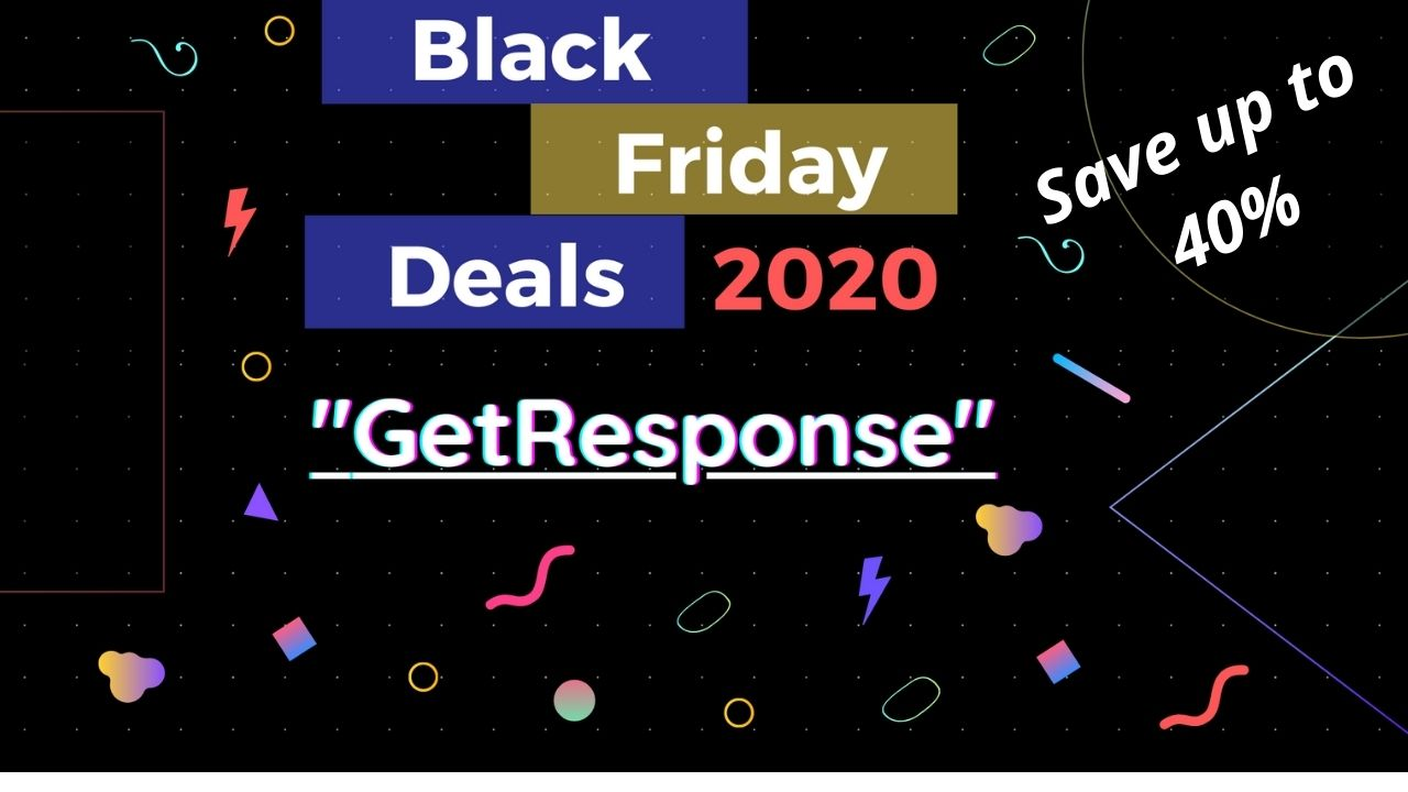 Best Black Friday Deals On Email-Marketing Get Response: Get 40% Off
