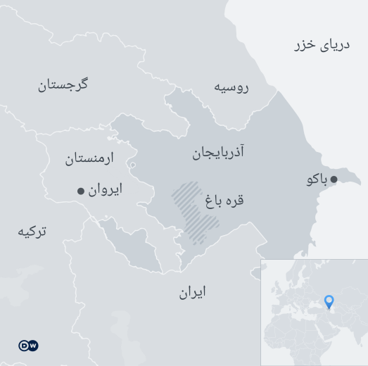 Infografik Karte Kaukasus FA