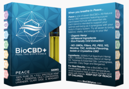 Bio CBD Plus Vape Pen
