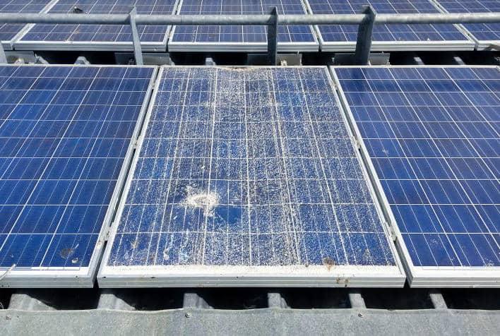 measure solar panel output