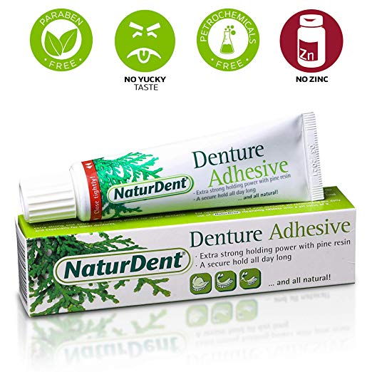 image of NaturDent denture adhesive