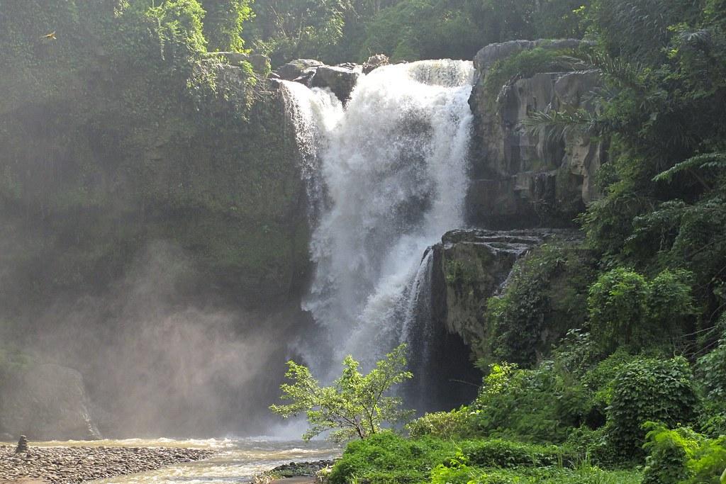 Tegenungan waterfall of bali