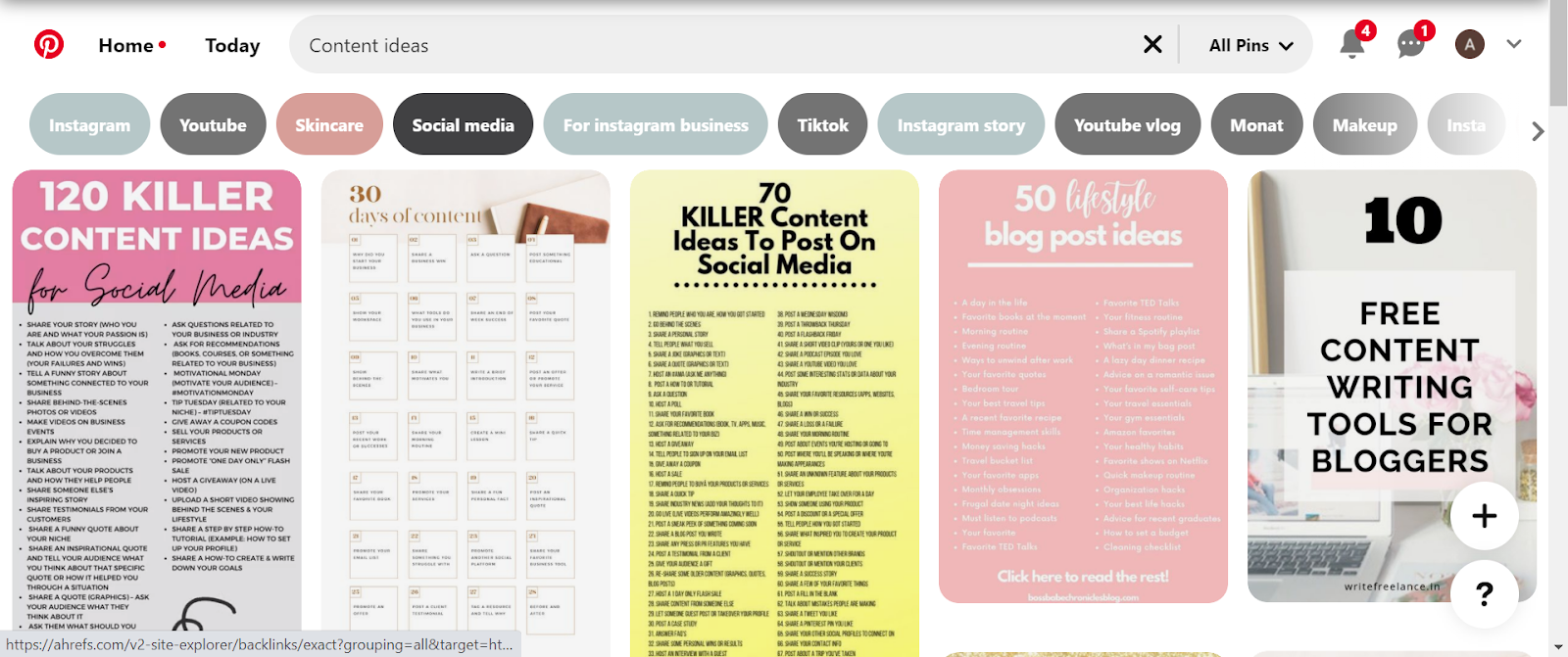 how to deal with creative block  Pinterest