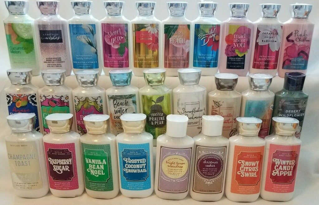 Body Lotion Bath&Body Works