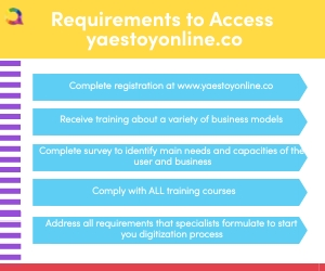 Requirements to access yaestoyonline.co to get help grow your e-commerce strategies