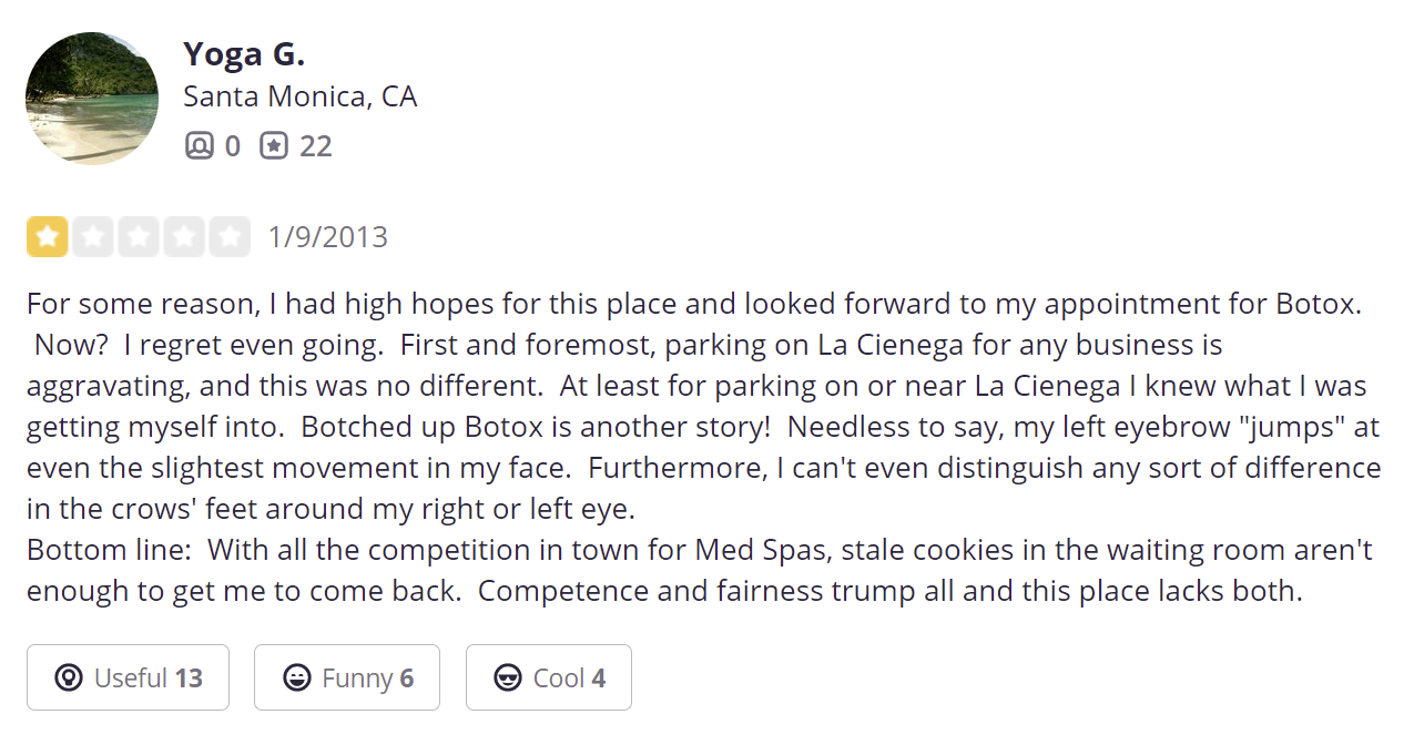 iGlow Med Spa review