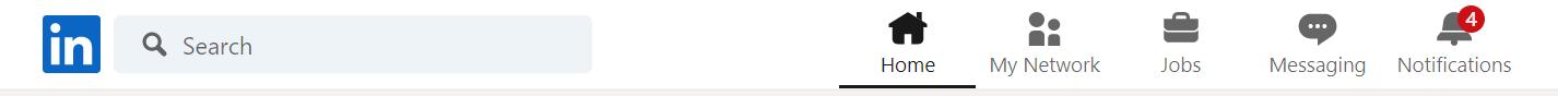 Screenshot of LinkedIn - Social Media Search Engine