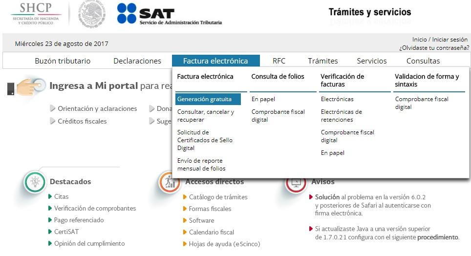 Cómo llenar la nueva factura electrónica del SAT? | el Contribuyente