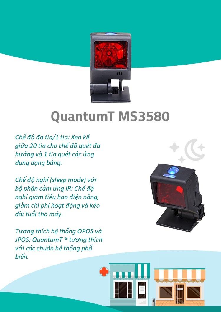 Máy quét mã vạch Honeywell MS3580 QuantumT - ảnh 3