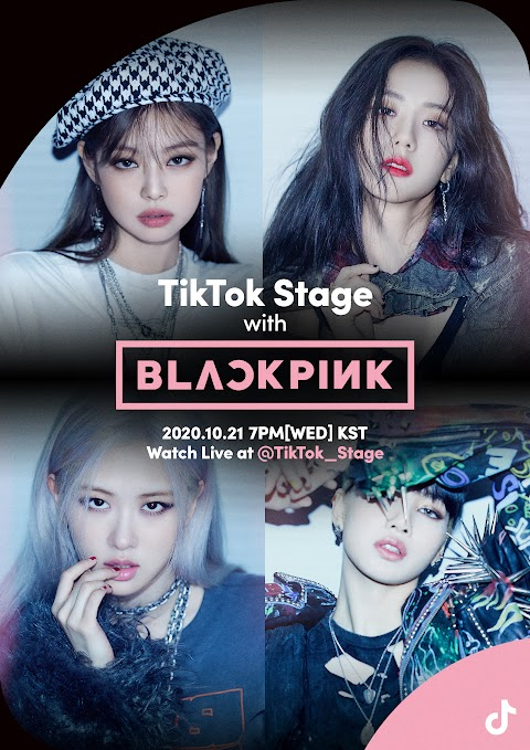 Connect with BLACKPINK on 'TikTok Stage'! this Tuesday, October 21