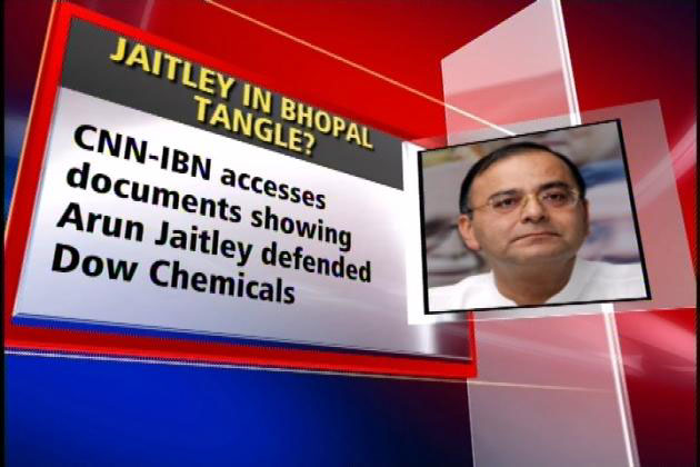 Arun Jaitley too advised Dow on Bhopal